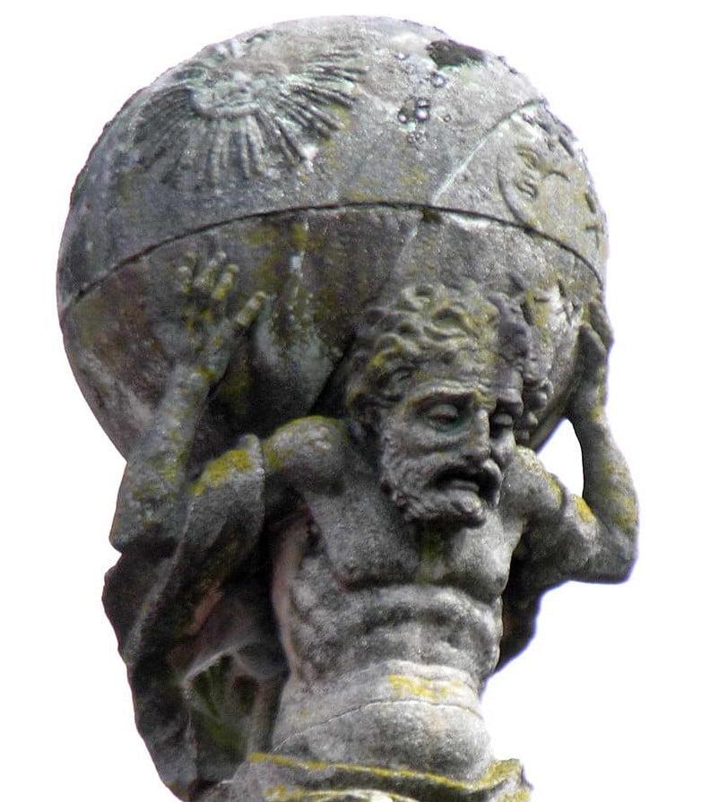 El mito griego de Atlas