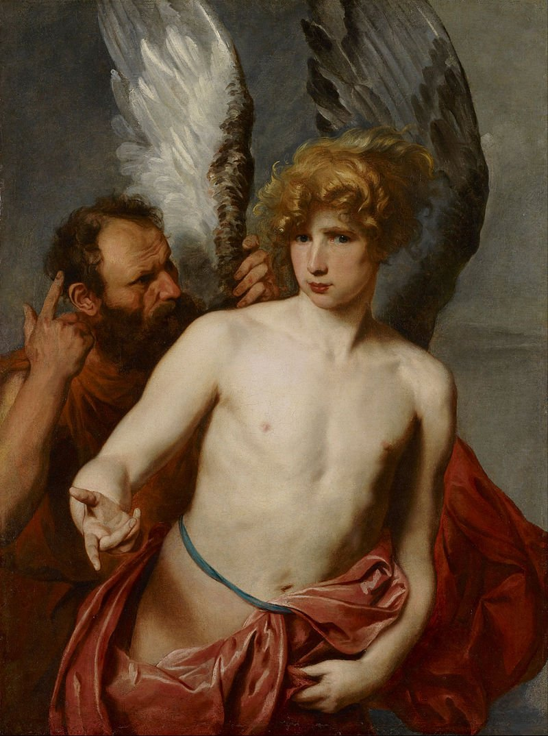 El mito griego de Ícaro
