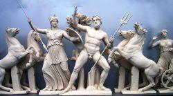 Mito de atenea y poseidón