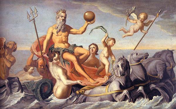 Mito romano del dios Neptuno