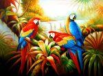 El mito de la guacamaya y los colores