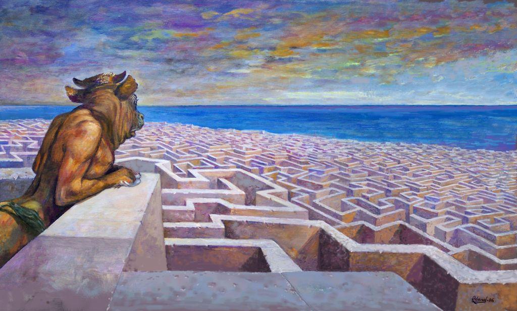Mito del minotauro de Creta