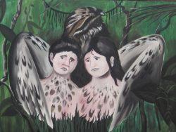 Mito del pájaro Ayaymama