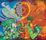 Mito mexicano de el sol y la luna: el dios rico y el dios humilde