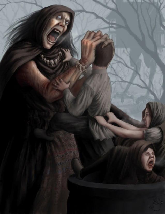 Leyenda de la vieja diabla